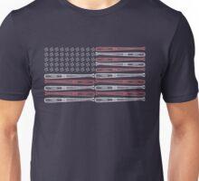 Baseball Flag Design Unisex T-Shirt