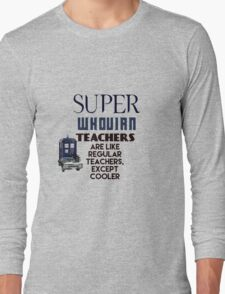 Perfect For The Supernatural /Doctor Who Fan! Long Sleeve T-Shirt