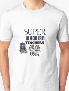 Perfect For The Supernatural /Doctor Who Fan! T-Shirt