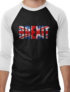 brexit paint splatter Men's Baseball ¾ T-Shirt