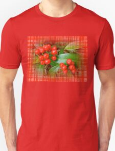 Holly Berries Unisex T-Shirt