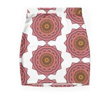 Sunny Kaleidoscope in Pink and Yellow Mini Skirt