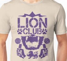 Lion Club Purple Unisex T-Shirt