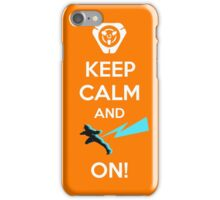 Keep Calm, loves! iPhone Case/Skin