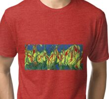 The Fire Outside Tri-blend T-Shirt