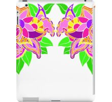 Paisley and Floral Combo iPad Case/Skin