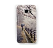 Strolling in the Rain Samsung Galaxy Case/Skin