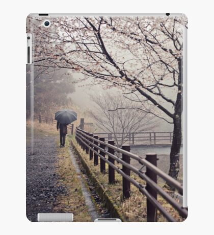 Strolling in the Rain iPad Case/Skin