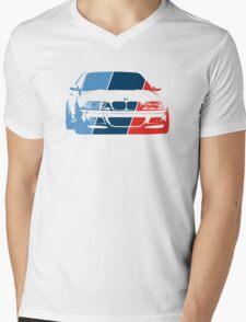 E36 in M colors Mens V-Neck T-Shirt