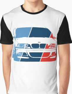 E36 in M colors Graphic T-Shirt