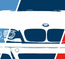 E36 in M colors Sticker