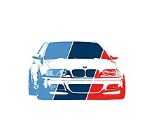 E36 in M colors Photographic Print