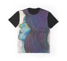 Ocean Galaxy Girl Graphic T-Shirt