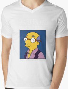Kirk Van Houten - Can I Borrow A Feeling? Mens V-Neck T-Shirt
