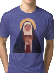 Our Lady Of Sorrows Tri-blend T-Shirt