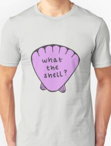 what the shell? Unisex T-Shirt