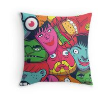 TownFolks Throw Pillow