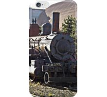Train at Tracks End iPhone Case/Skin
