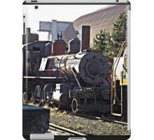 Train at Tracks End iPad Case/Skin