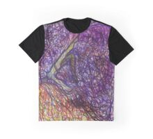 Pale With Luminous Ocean Leaves Graphic T-Shirt