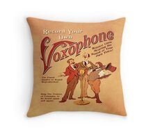 BioShock Infinite – Record Your Own Voxophone Poster Throw Pillow
