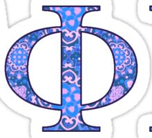 GAMMA PHI BETA Sticker