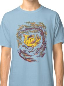 Chocobo with Blossoms Classic T-Shirt