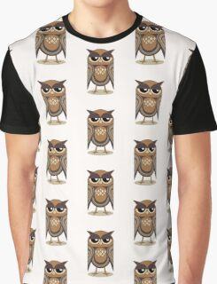 THE UNDERSTANDING OWL Graphic T-Shirt