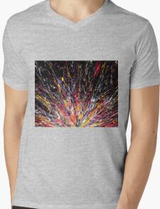 When My Brain Explodes, I Hope There's a Canvas Nearby Mens V-Neck T-Shirt