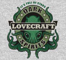 Lovecraft Dark Spirits - light print One Piece - Long Sleeve