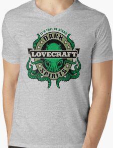Lovecraft Dark Spirits - light print Mens V-Neck T-Shirt