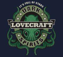 Lovecraft Dark Spirits - dark print Baby Tee