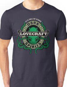 Lovecraft Dark Spirits - dark print Unisex T-Shirt