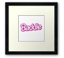 Bad Barbie Framed Print