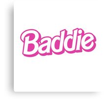 Bad Barbie Canvas Print