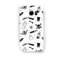 A Few of My Macabre Things (on white) Samsung Galaxy Case/Skin
