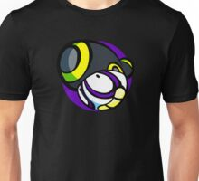 Pan Pizza Head Round Unisex T-Shirt