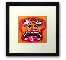 Brainblast Framed Print