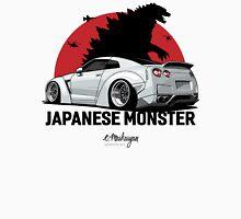 Nissan GTR. Japanese Monster (white) Unisex T-Shirt