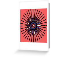 Patriotic Burst Greeting Card