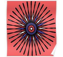 Patriotic Burst Poster