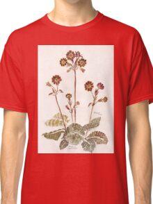 Primula 'Gold Lace' - Botanical Classic T-Shirt