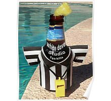 TEA-KILLA BEER BY THE POOL Poster
