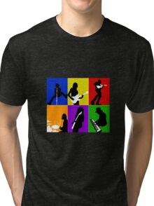 Cage The Elephant Pop Art  Tri-blend T-Shirt