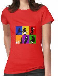 Cage The Elephant Pop Art  Womens Fitted T-Shirt