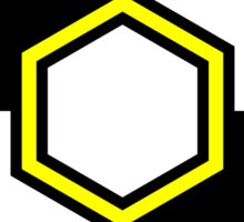 Rebel Taxi logo 3 Sticker