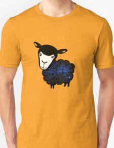 Black Sheep Nebula Unisex T-Shirt