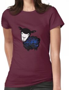 Black Sheep Nebula Womens Fitted T-Shirt