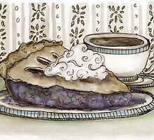 Pie and Coffee by Kim  Harris