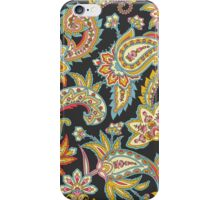 NOMAD PAISLEY - CHARCOAL iPhone Case/Skin